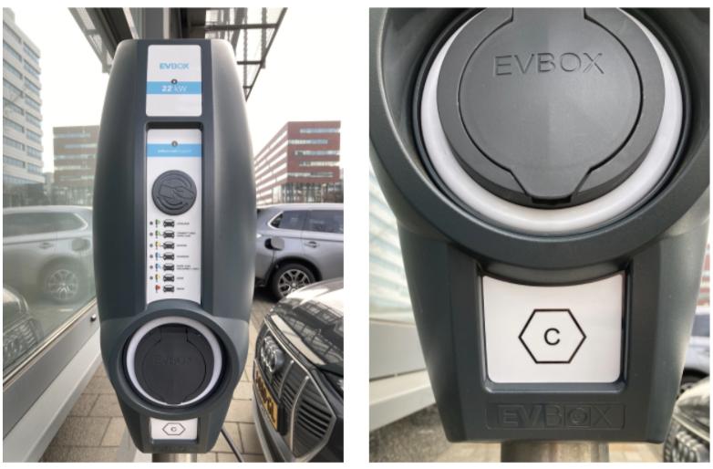 Borne de recharge EVBox BusinessLine