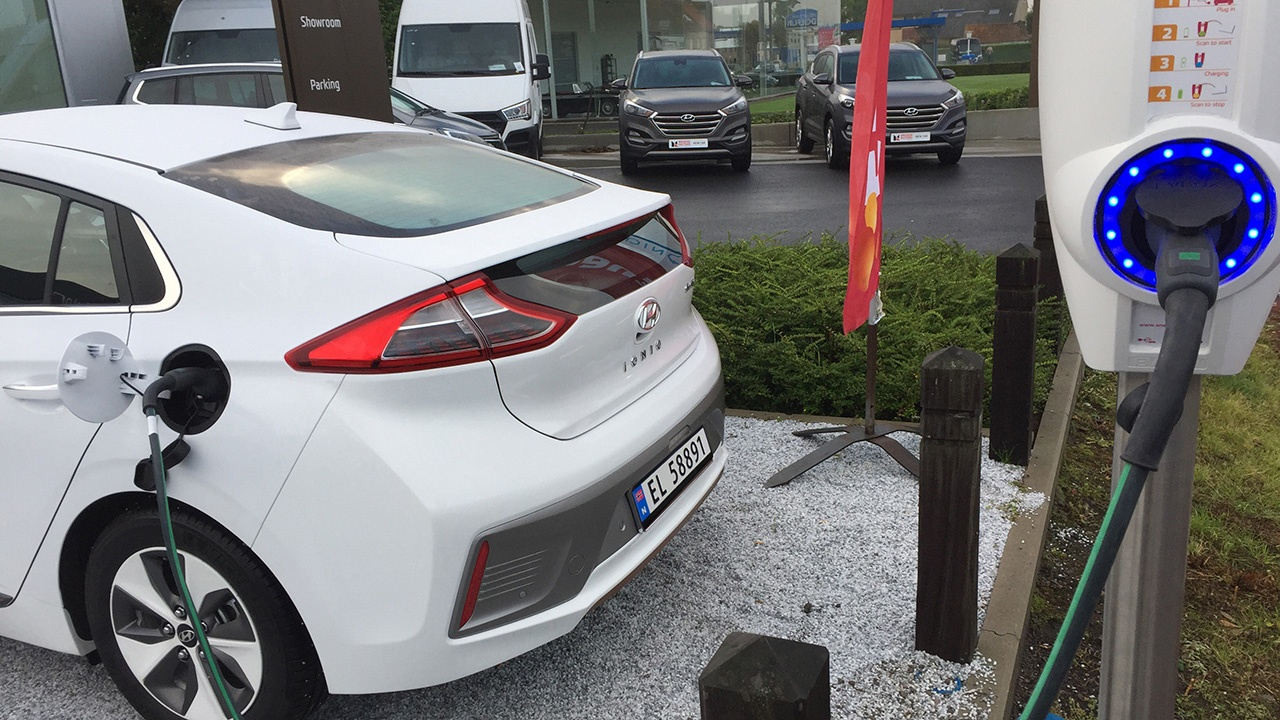 Hyundai Charging station