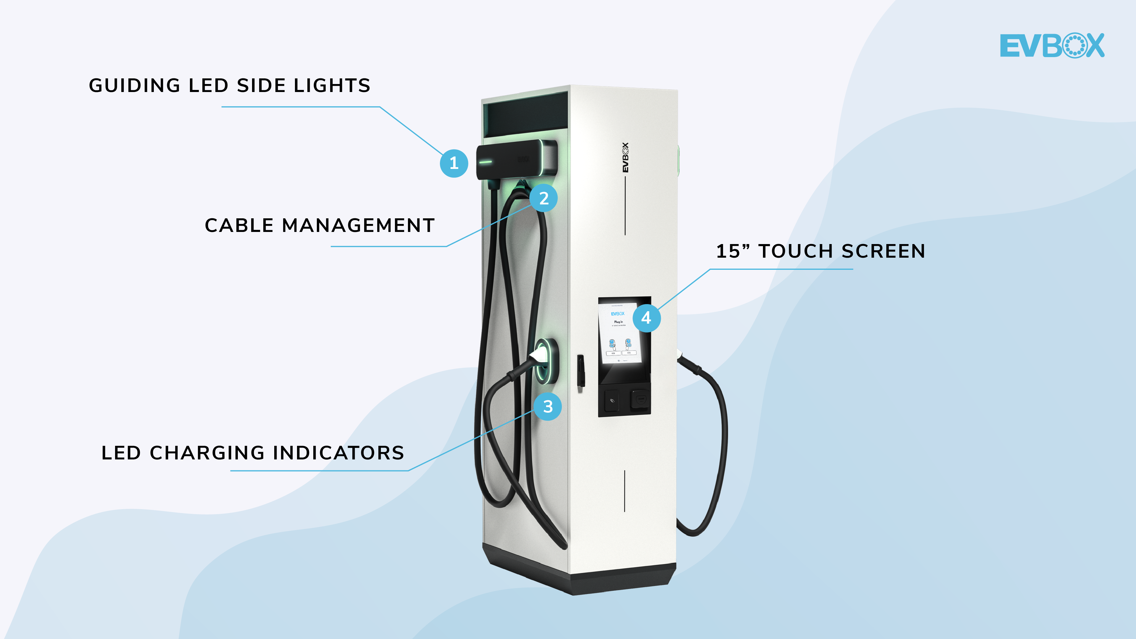 Charging station user experience features