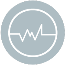 icon grey minimal efficiency energy
