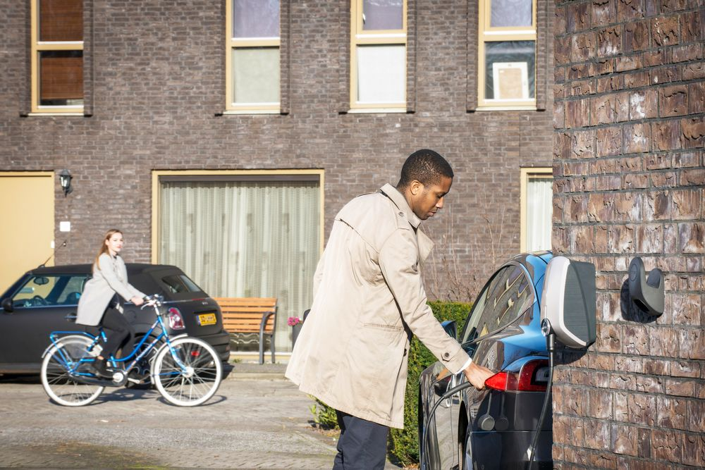 EV charging stations at home or at work
