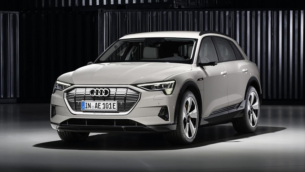 audi etron electric car 2019