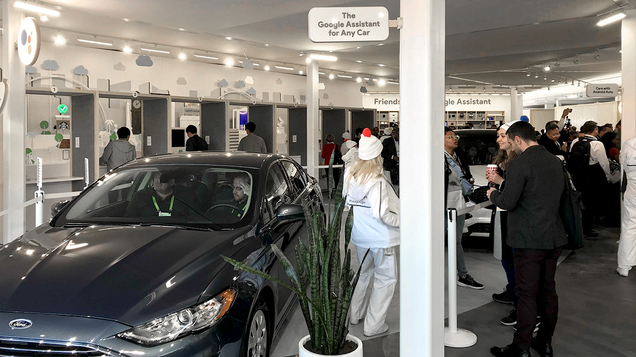 ces-google-assitant-car-industry