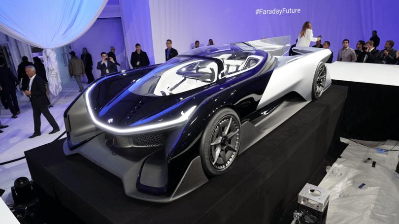 faraday future ffzero1 ces 2016