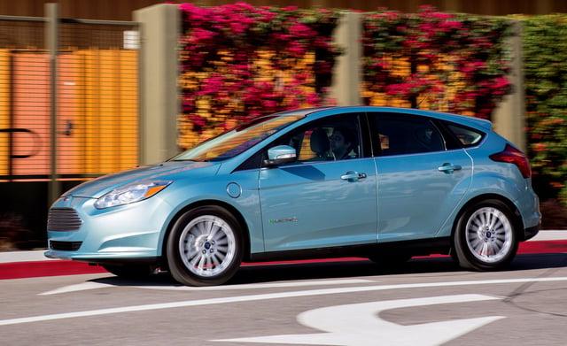 ford focus electric range