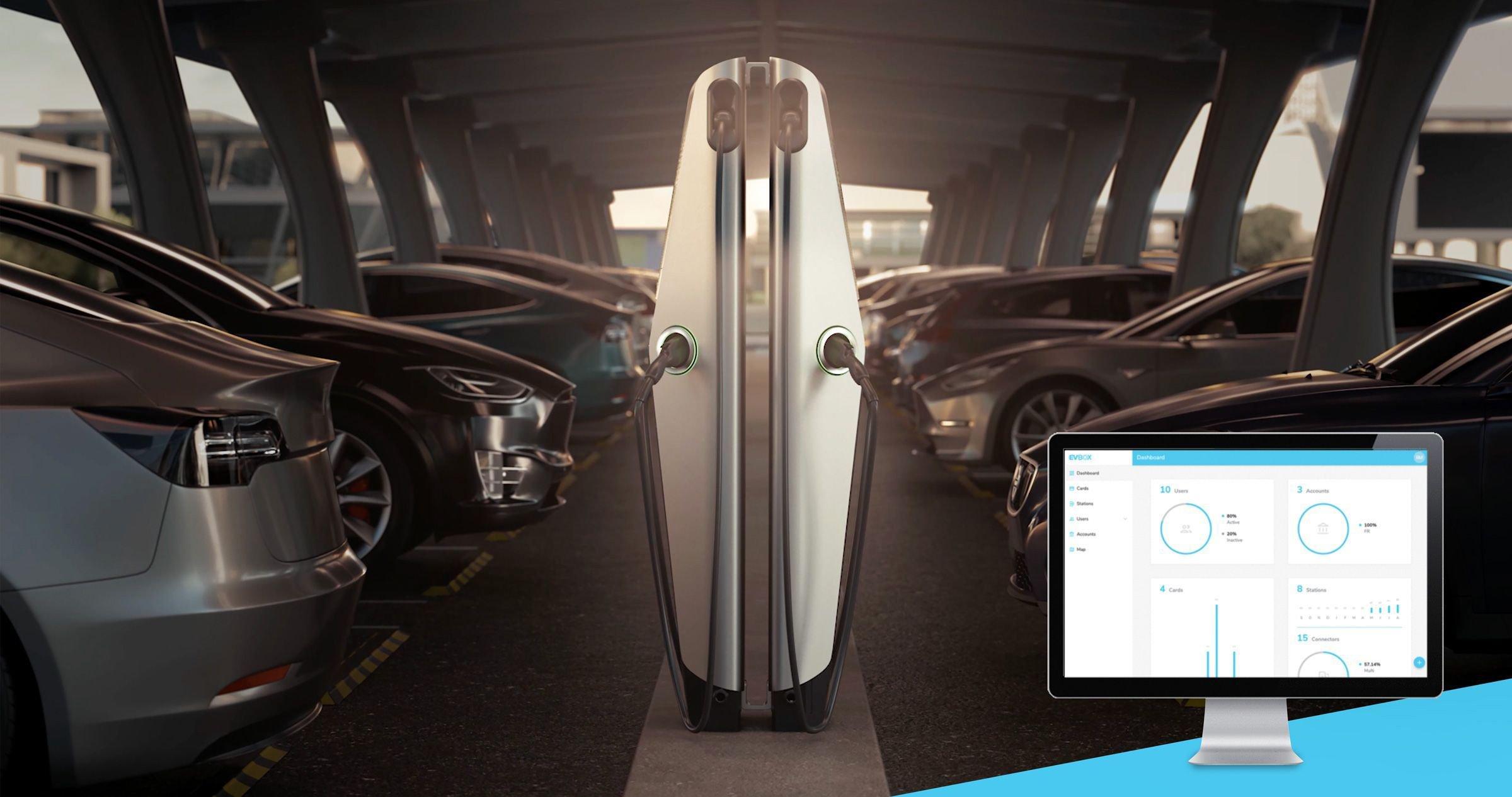 EVBox charging management software