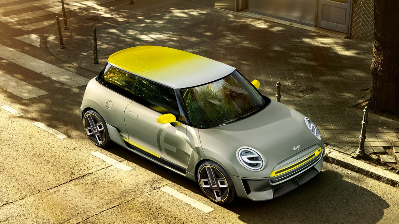 mini-e-electric-car