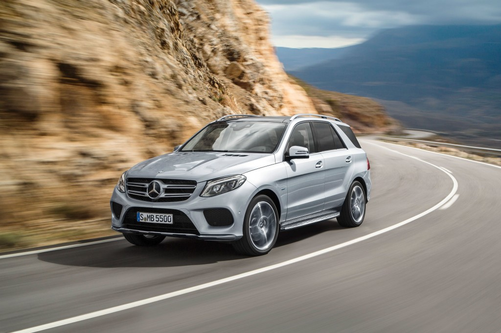2016 Mercedes Benz GLE550e