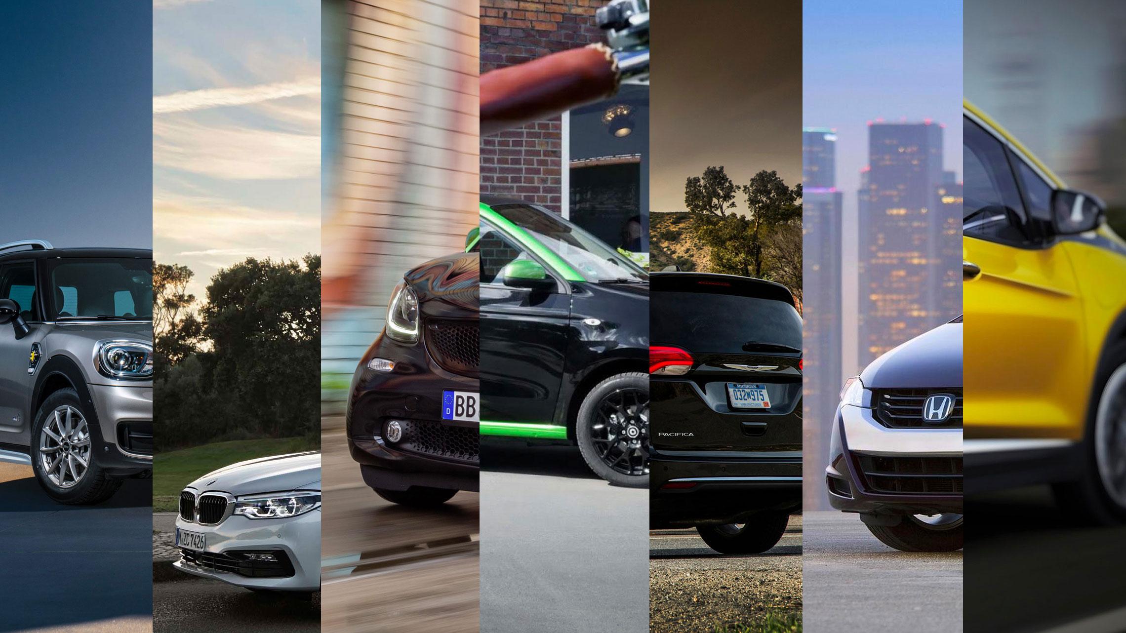 7 Nieuwe EV's van 2017