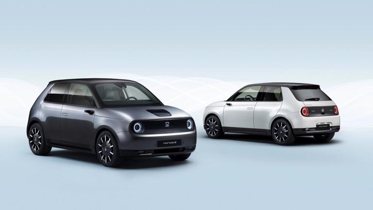 honda e electric car 2020