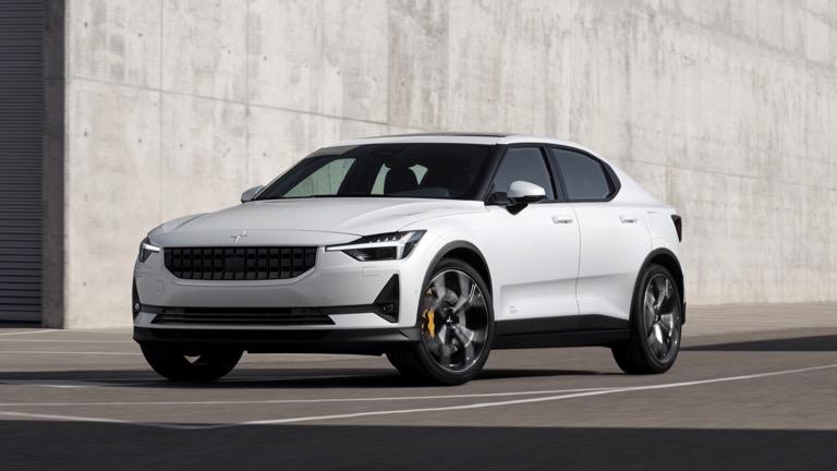 polestar 2 electric car 2020