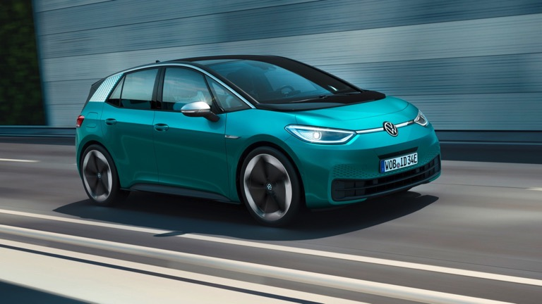 volkswagen id.3 electric car 2020