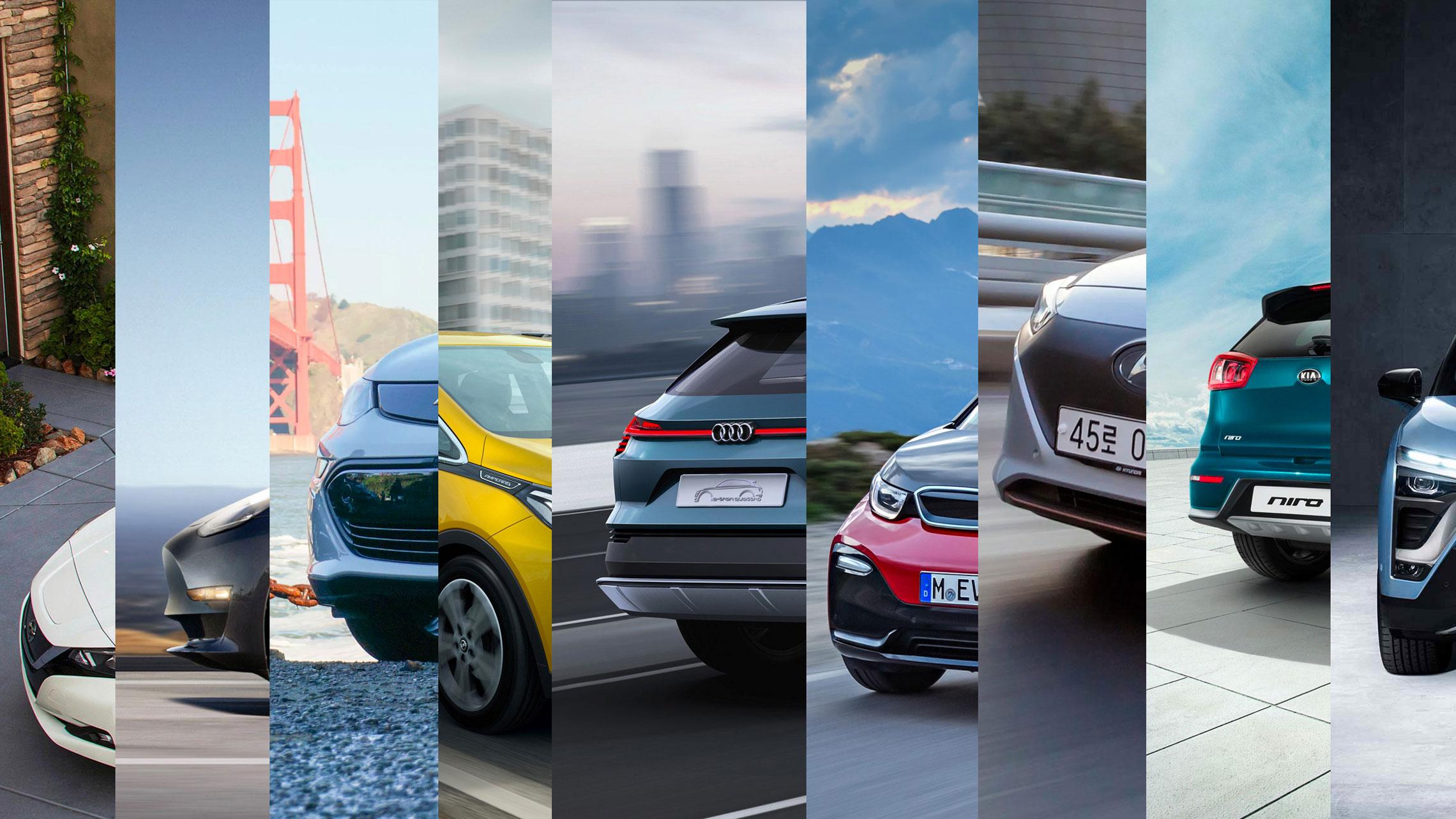 21 vol-elektrische auto's die je kunt bewonderen vóór 2021