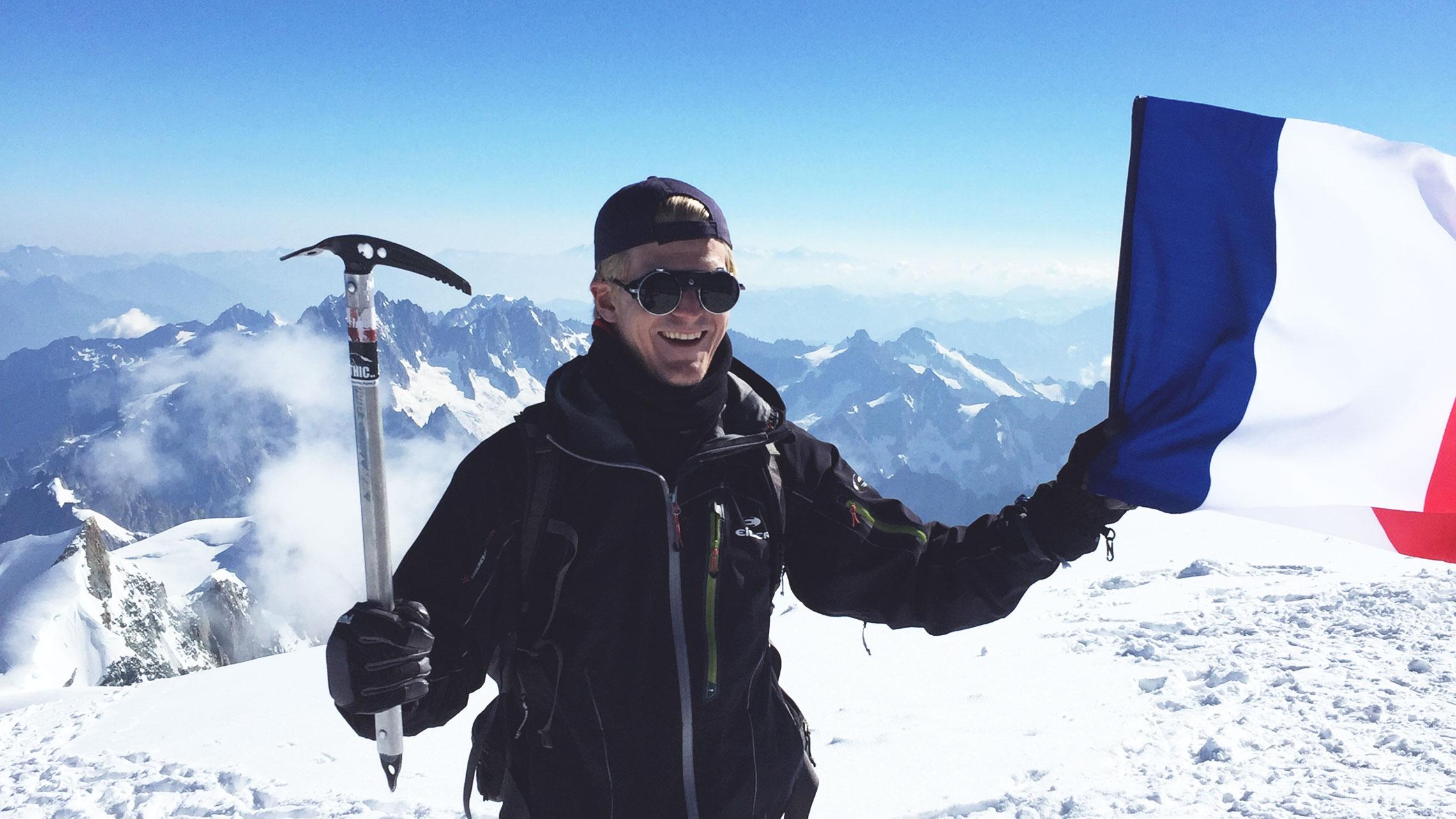 Ce que le Mont Blanc nous dit du réchauffement climatique en France